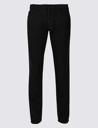 Marks and Spencer Italian Moleskin Slim Fit 5 Pocket Trousers