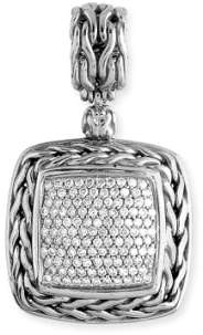 John Hardy 'Classic Chain' Pave Pendant