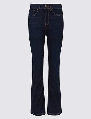 Marks and Spencer Ozone Mid Rise Slim Bootcut Jeans