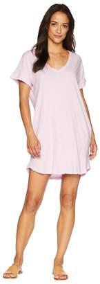 Allen Allen Short Sleeve Vee Dress with Pockets Women's Dress