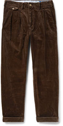 Mens Corduroy Pants Pleated Front Shopstyle