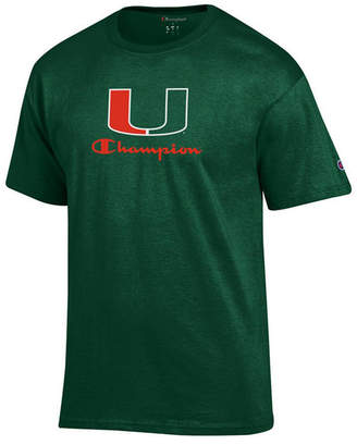 Champion Men Miami Hurricanes Co-Branded T-Shirt