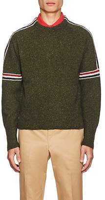 Thom Browne Men's Donegal-Effect Wool-Mohair Sweater
