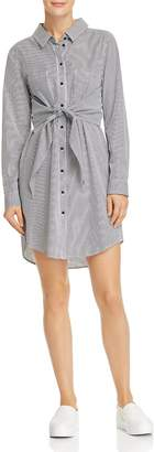 Sanctuary Striped Tie-Front Shirt Dress - 100% Exclusive