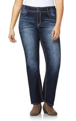 WallFlower Junior's Size Instastretch Curvy Bootcut Jeans