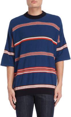Roberto Collina Striped Textured Sweater