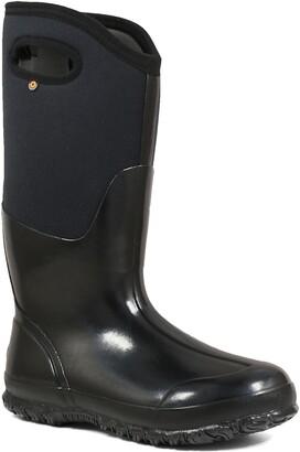 Bogs Classic Tall High Shine Insulated Waterproof Rain Boot