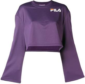 Fila popper sleeve sweatshirt