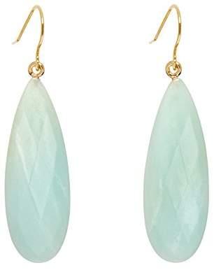 Lola Rose Women Green Coral Amazonite Dangle and Drop Earrings 702751
