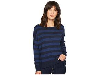 NYDJ Long Sleeve Striped Sweater Women's Sweater