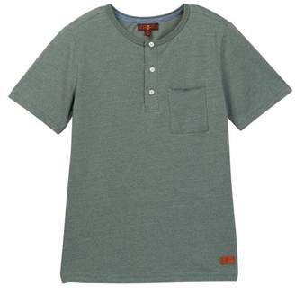 7 For All Mankind Henley Tee (Big Boys)