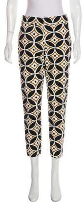 Trina Turk Mid-Rise Skinny Pants