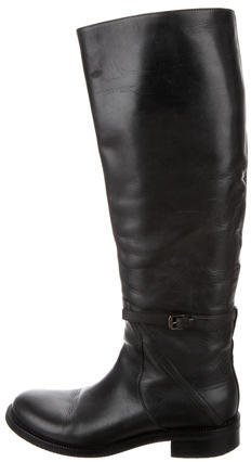 Bottega VenetaBottega Veneta Leather Riding Boots