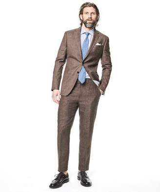 Todd Snyder White Label Sutton Linen Suit Jacket in Brown