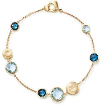Marco Bicego 18K Yellow Gold Jaipur Mixed Blue Topaz Bracelet - 100% Exclusive