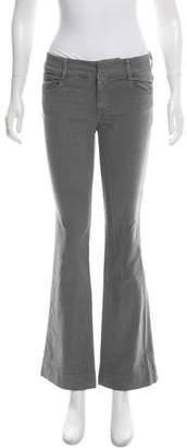 Nili Lotan Mid-Rise Wide-Leg Pants