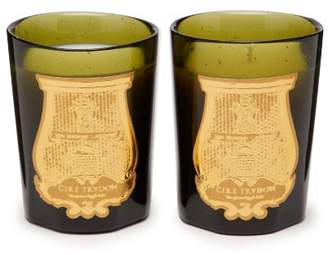 Cire Trudon Revolutionary Duet Scented Candles Set - Green