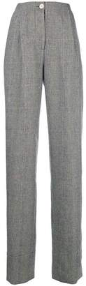 Lardini checked print tailored trousers