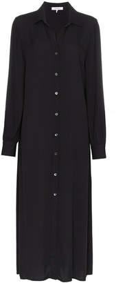 Frame button down shirt dress