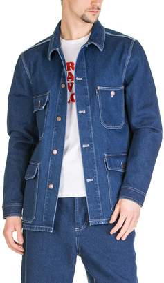 Ami Alexandre Mattiussi Denim Worker Jacket
