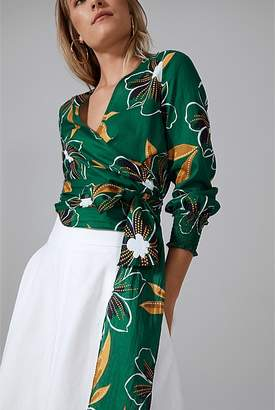 Country Road Dotted Floral Top