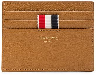 Thom Browne Pebble Grain Cardholder $380 thestylecure.com