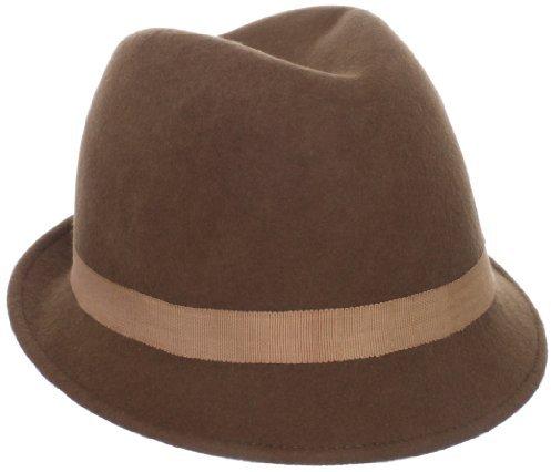San Diego Hat Company San Diego Hat Women's Fashionable Feather Fedora Hat