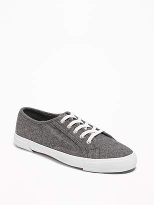 Old Navy Wool-Blend Lace-Up Sneakers for Women