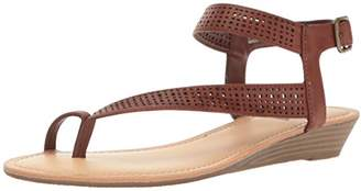 Unlisted Women's Color Mix Wedge Sandal