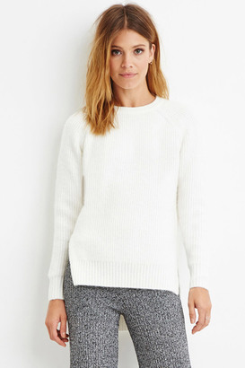 FOREVER 21+ Contemporary Brushed Knit Raglan Sweater $27.90 thestylecure.com