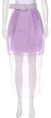 Jonathan Cohen Lace Midi Skirt