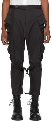 The Viridi-anne Black Cargo Pants