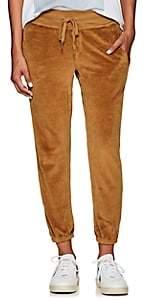 NSF Women's Sayde Cotton-Blend Velour Sweatpants - Gold