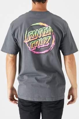 Santa Cruz Throwdown Dot T-Shirt