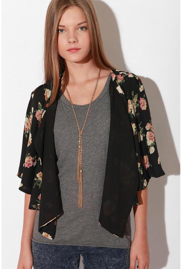 Urban Outfitters Urban Renewal Kimono Jacket