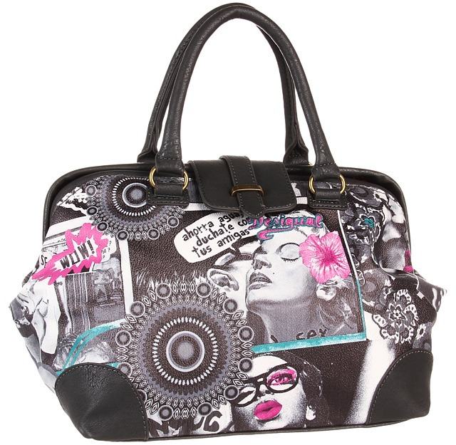 Desigual Bols Wow (Negro) - Bags and Luggage