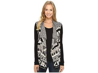 Lucky Brand Drape Cardigan Women's Sweater