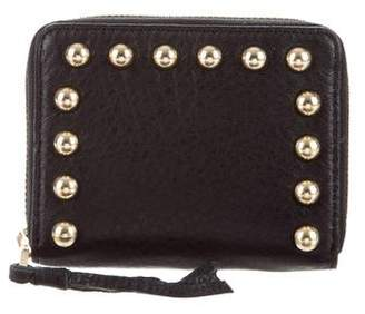 Rebecca Minkoff Leather Embellished Wallet w/ Tags