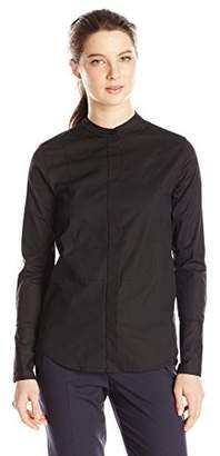 Dickies Junior's Long Sleeve Mandarin Collar Bib Shirt