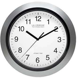 La Crosse Technology WT-3102S 10-Inch Atomic Analog Wall Clock