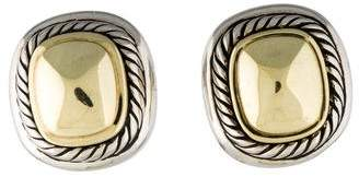 David Yurman Two-Tone Albion Stud Earrings