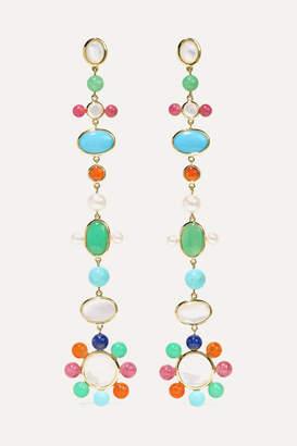 Ippolita Nova 18-karat Gold Multi-stone Earrings