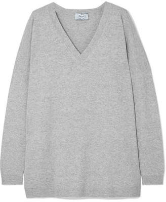 Prada Oversized Wool Sweater - Gray