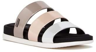 Calvin Klein Dalana Metallic Slide Sandal