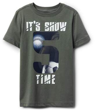 Crazy 8 Crazy8 It's Show Time Tee