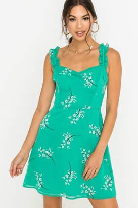 Lush Green Dream Dress