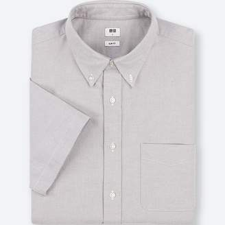 Uniqlo MEN Oxford Slim Fit Short Sleeve Shirt