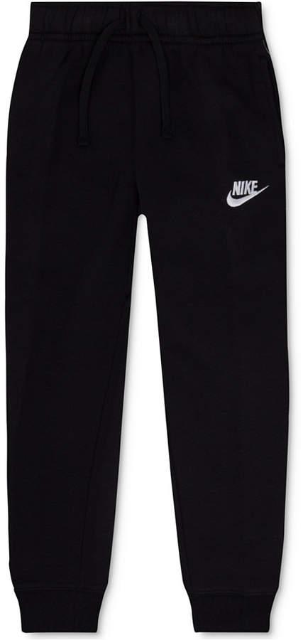 Nike Fleece Jogger Pants, Little Boys (4-7)
