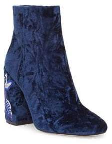 Jessica Simpson Wazlin Velvet Booties