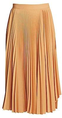 Acne Studios Women's Ilky Pleated Midi Skirt